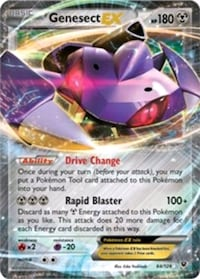 Pokemon Card - Genesect EX__NEW