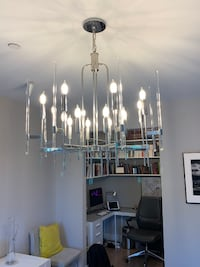 Modern chandelier in Washington DC null