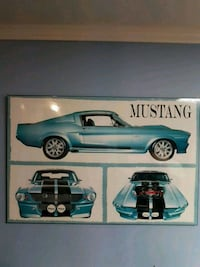 blue Ford Mustang coupe photo London, N6J 2J1