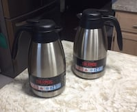 Thermos Insulated Stainless Steel Carafe (x2)  - New