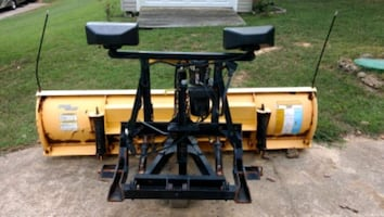 Plow w/ mount and wiring harness and harness for flashing headlights