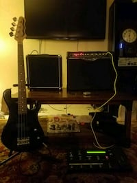 Jr. Bass Guitar and 25 watt Bass Amp  Huntsville, 35802