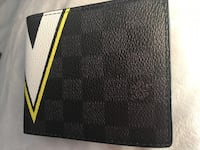 black and brown leather wallet West Palm Beach, 33409