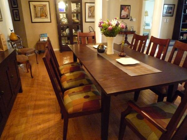 Groovy Ethan Allen Dining Room Table And Chairs 975 00 Bergenfield Unemploymentrelief Wooden Chair Designs For Living Room Unemploymentrelieforg