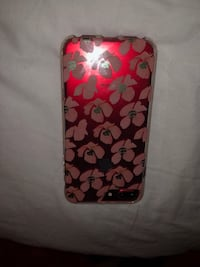 clear and red floral iPhone case Phoenix, 85017