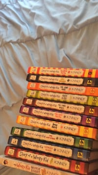 diary of a wimpy kid  all hard cover  1-5 7-11 and the movie diary Portland, 97212