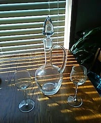 Crystal Decanter  Frederick, 21704