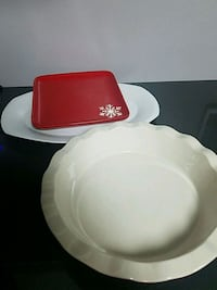 Pie dish and plates  Sioux Falls, 57104