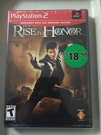 Rise of honor ps2 game (never opened) Ottawa, K1B 4Z8
