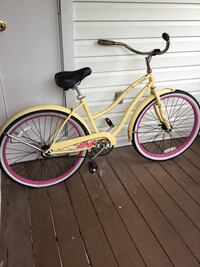 Huffy Belle Pink and Yellow Adult Bike Frederick, 21701