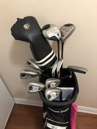Ladies Callaway C20 Irons, Big Bertha Woods and TaylorMade Putter. Mississauga, L4Y 4E1