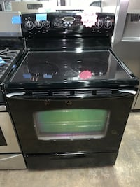 Maytag glass top electric range working perfectly Baltimore, 21223