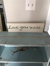 Cure love you more sign