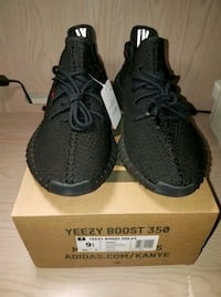 pair of black Adidas Yeezy Boost 350 with box Miami, 33126