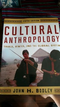 Cultural anthropology  2279 mi