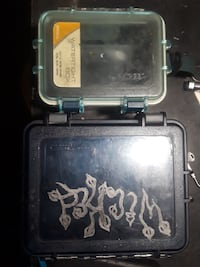 Small and large water tight sealed Dry box