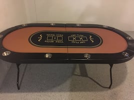 10 person poker table