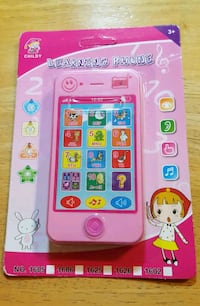 Girls Pink Learning Phone