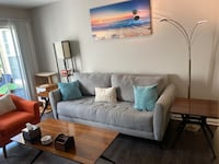 Couch and coffee table set by Ashley furniture