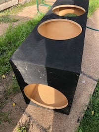 CUSTOM BUILT SEALED ENCLOSURE BUILT FOR 4-15 inch subwoofers///BRAND NEW  Chicago, 60617