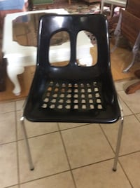 vintage moulded plastic and Chrome chair from Israel