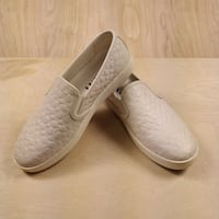 Coach C117 C Signature Chalk Slip On Sneaker 9.5 B FG2118 Purcellville