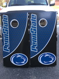 Custom made Penn State cornhole set York, 17408