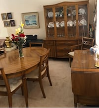 Dinning room set - 3 piece real wood Laval, H7M 2E8