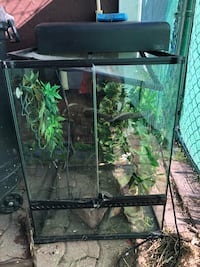 black metal framed pet tank Toronto, M1C 1Z9