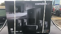 black and gray home theater system box Toronto, M8Z 0C5