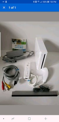 Wii Nintendo system West Columbia