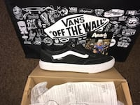 Pair of black-and-white vans. Brand new never worn. Comes with gift receipt. Whittier, 90604