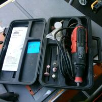 black and gray corded power tool Mississauga, L5J 4H2