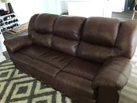 Leather recliner couch Huntington Beach, 92647