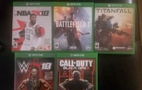 four Xbox One game  Sacramento, 95834