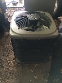 White and black air condenser