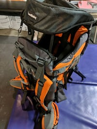 Luvd baby hiking baby backpack  2235 mi