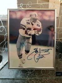 Autographed Emmitt Smith 8×10 In Frame Norfolk, 23707