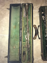 Vintage metal Clarinets. Price is for both items Morristown, 07960