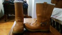 Womens leather Timberland boots, lightly worn. Downingtown, 19335