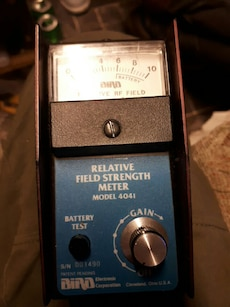 Bird Electronic Relative Field Strength Meter 4041
