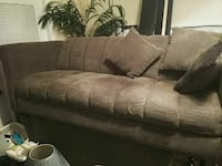 brown fabric 3-seat sofa Gainesville, 32641