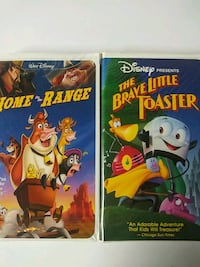 Home on the Range and The Brave Little Toaster vhs Baltimore