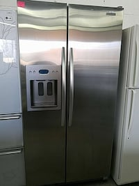 stainless steel side-by-side door refrigerator Woodbridge, 22191