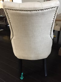 Zgallery dinning table chairsWhite and gray floral textile Haines City, 33844