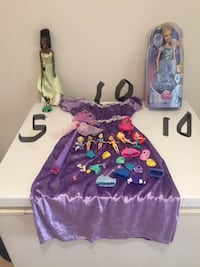 New and used dolls & dress with wand size 3+ might fit up to 6X Toronto