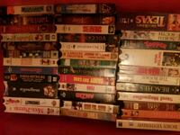 VHS and couple dvd 12/5.00 Columbus, 31909