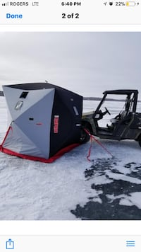 Rapala sherpa m3 ice fishing tent