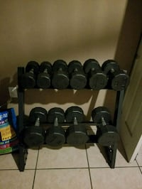 Weight dumbbells sets with Rack Long Beach, 90807