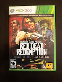 Red Dead Redemption Game of the Year Edition - XBox 360 (Disc 1 Of 2 ONLY) Winnipeg, R2Y 2G4